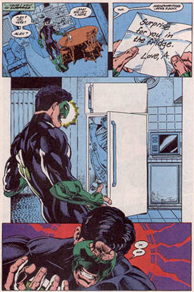 Green Lantern feels your pain, ladies.