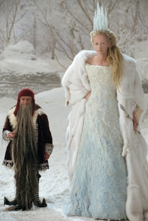 "The White Witch of Narnia, AKA ""Not Elsa"" (portrayed by Tilda Swinton in the 2005 film)"