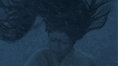 The Woman of the Snow, portrayed by Mieko Harada in Aikira Kurosawa's film  Dreams .