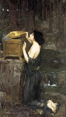 """Pandora"" by John William Waterhouse 1896"