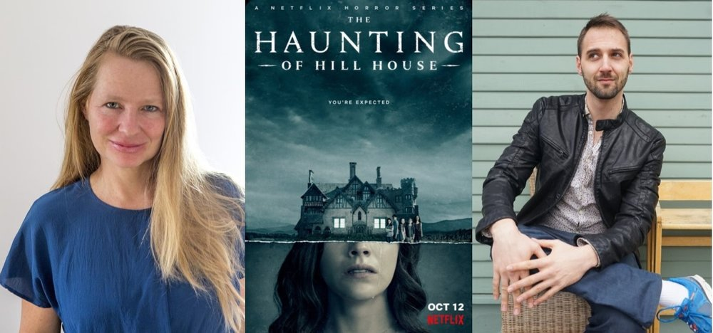 Samantha Hunt, Haunting of Hill House promotional poster, Theodore McCombs