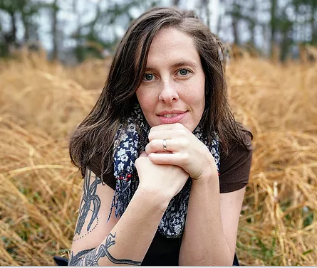 Alix E. Harrow, from her website. She currently lives in Kentucky.