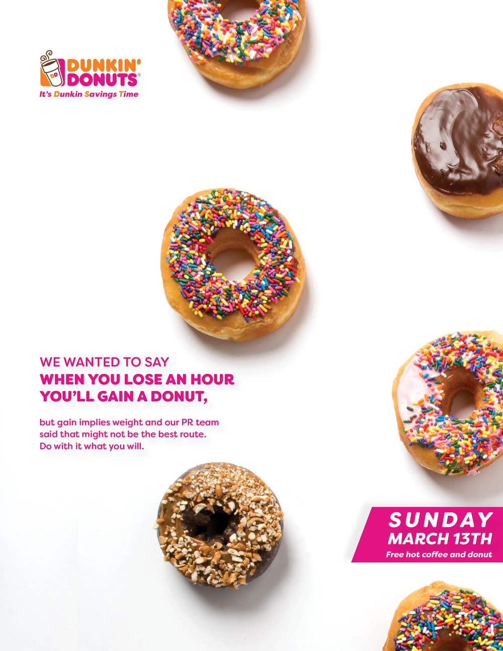 Dunkin\' Donuts — Lucy Dabney