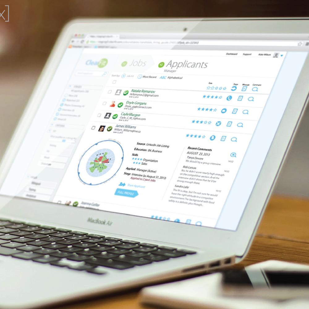 Clearfit - Web App