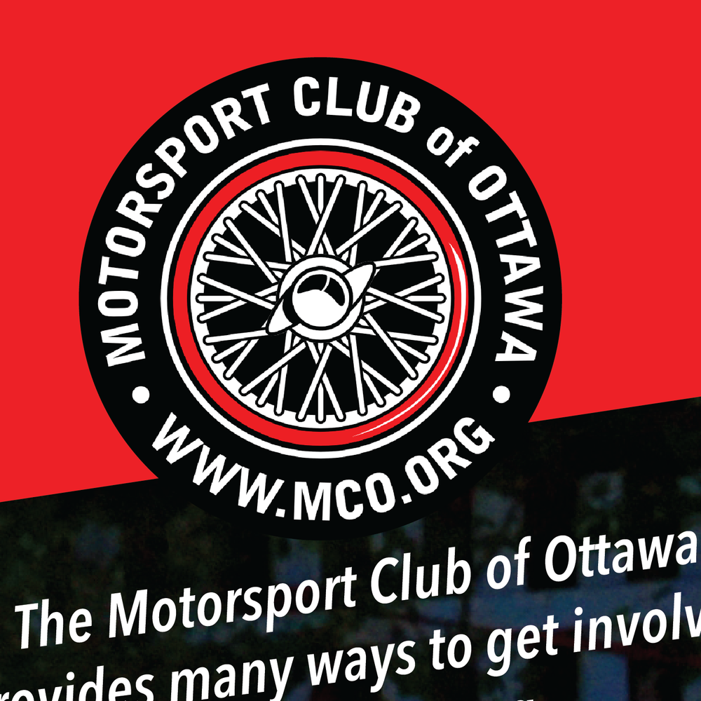Posters for the Motorsport Club of Ottawa