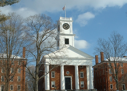 Amherst College: johnson chapel