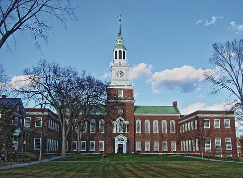 dartmouth college: baker library