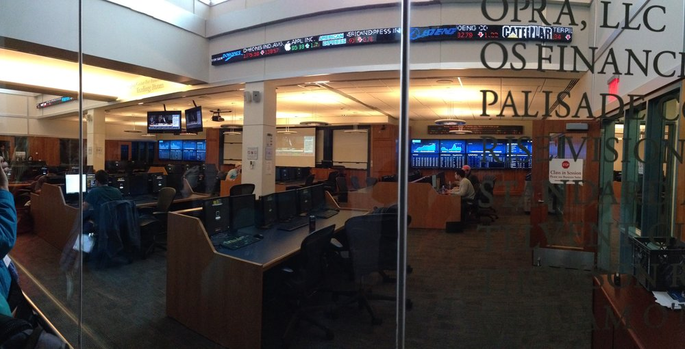 BENTLEY'S TRADING ROOM