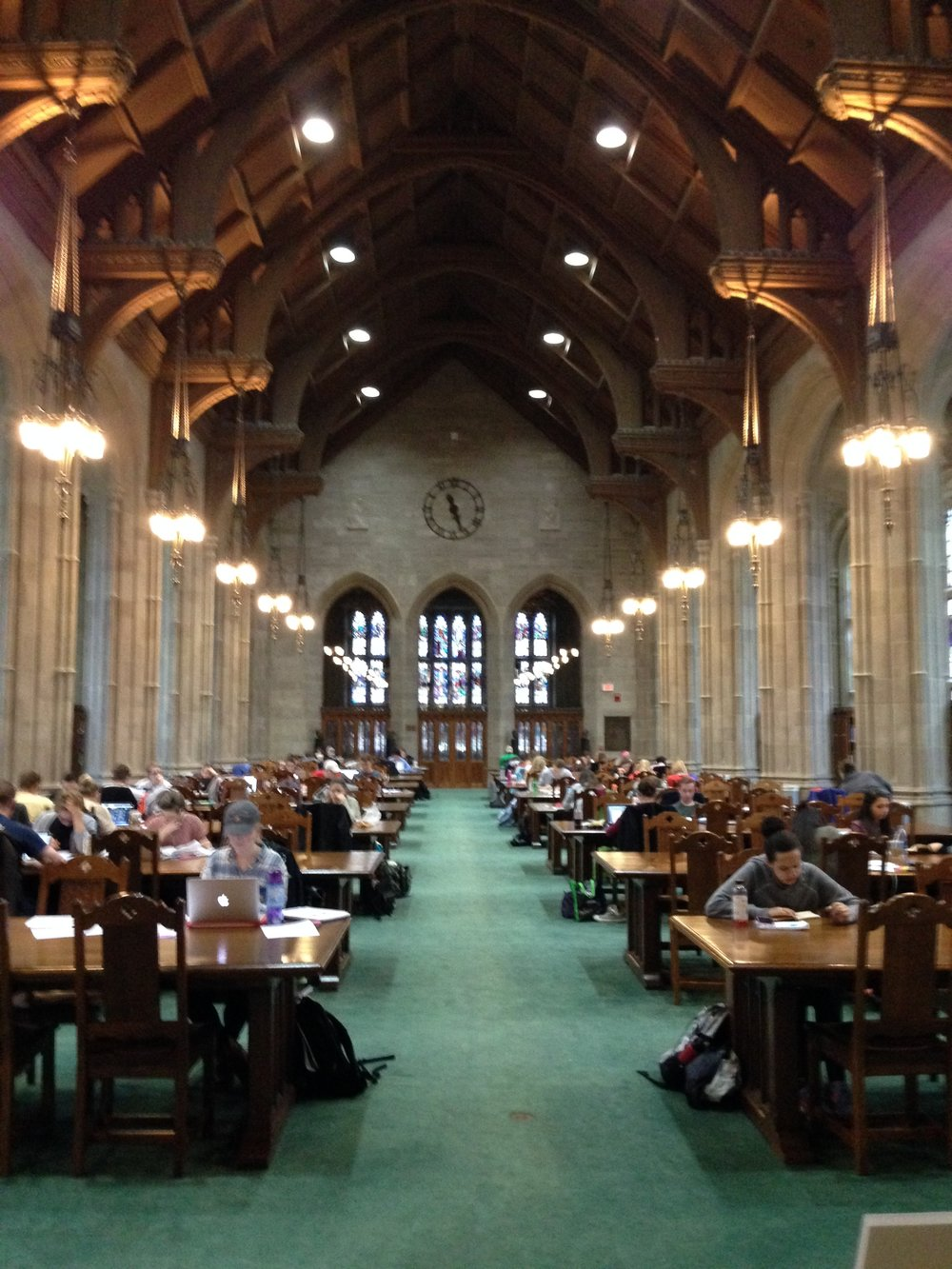 BC'S GARGAN HALL (READING ROOM