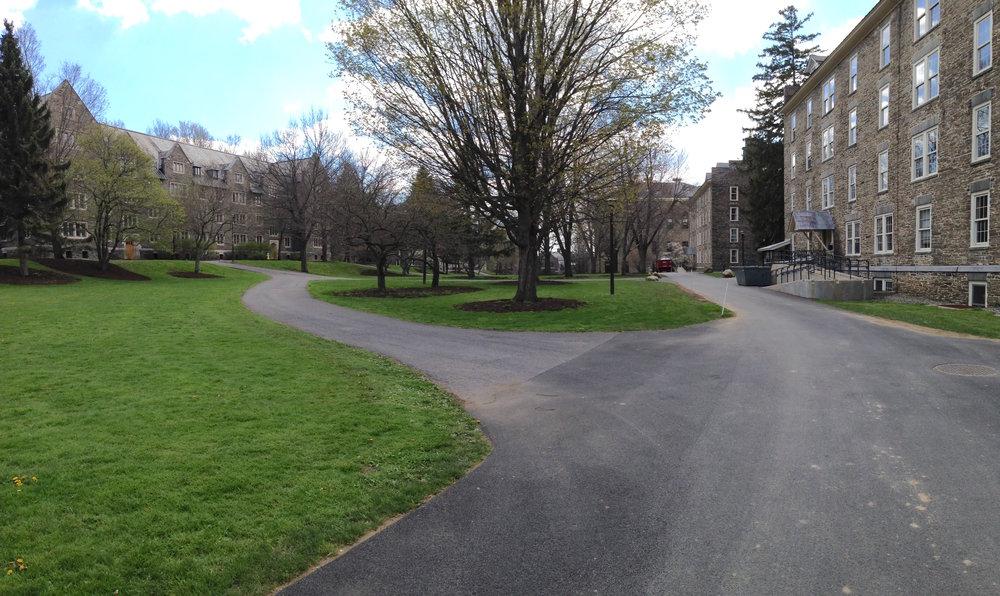 colgate university—residence quad