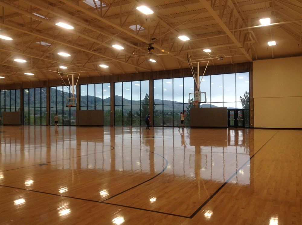 CU BOULDER REC CENTER GYM
