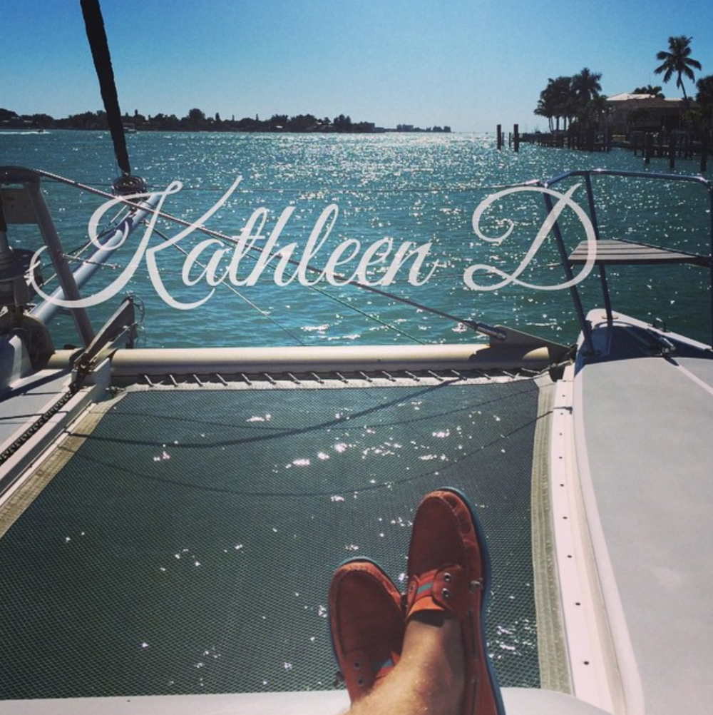Marketing aboard the Kathleen D