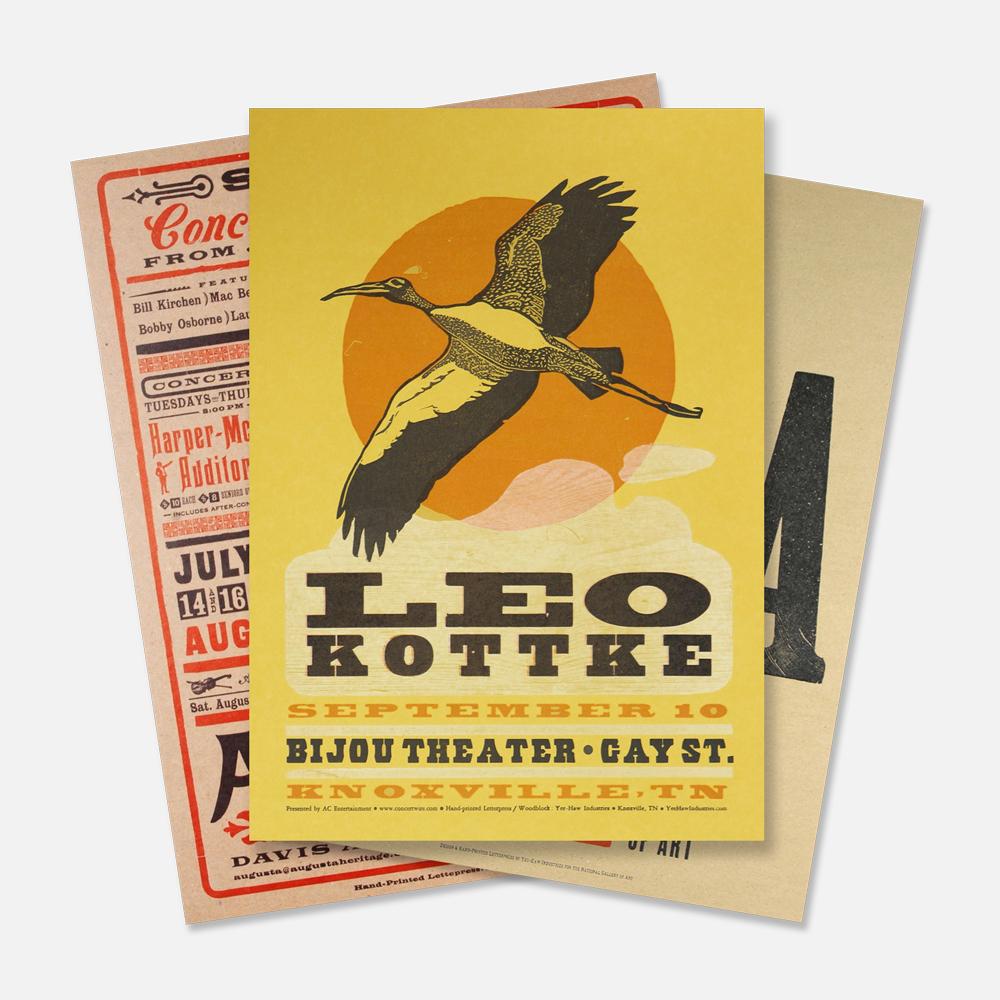 Letterpress Posters