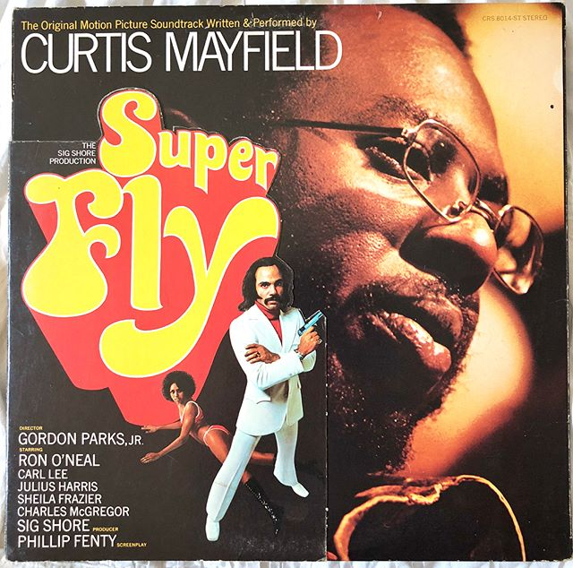 "(6 of 7) Curtis Mayfield- Super Fly OST (1972)- Hi! @somekindofjohnster here aka John Totten nearing the end of my residency. I'm spending the weekend planning a Community Psychology course for undergrad psych majors. What better way to catch those weekend vibes while reading about societal trauma than the music of Curtis Mayfield. When Trump won the election I was deep in a Curtis-hole. Especially ""If There's Hell Below We're All Gonna Go."" I first got into Curtis through the whitest of avenues- his collaboration with the band Lambchop. Then, in my 20s, my buddies @clubjoe and @trmb and I started watching Blacksploitation films and I got way into this soundtrack. On a related topic- How can someone not believe in institutional racism when people like Curtis have been calling it perfectly for centuries and they always get validated by the actual things happening...🤷🏻‍♂️. I wish Curtis was around to sing us through this current era. The bass playing of Jospeh Lucky Scott on this record is so nice. We are lucky to have the African-American music tradition of taking the darkest things in life and purging those feeling through dance and song. Shall we always treat that gift honorably. I'm gonna keep reading about the intersection of the philosophy of Levinas and hood politics with momentary dance breaks with Brenda. Enjoy your weekends!"