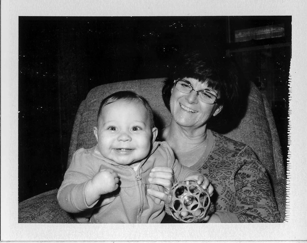 Rebecca and Marilyn - Rebecca is Chelsea's (Kim's sister) little girl and the second grandchild. She was 7-months old at the time this photograph was taken. Marilyn and I (along with Granddad, Uncle Bart, and my sons) helped take care of her while her Mom was with Kim and the rest of the bridal party. My sons took to Rebecca quickly and are excited that Kim and I will have a baby for them to help raise, play with, and (we hope) babysit!