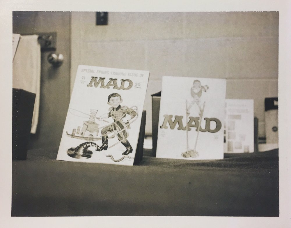 MAD Magazines dated June 1965 and June 1966.