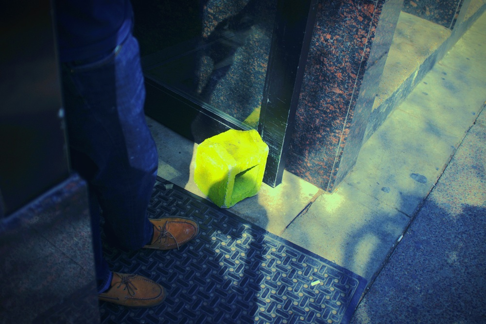 Kryptonite Doorstop