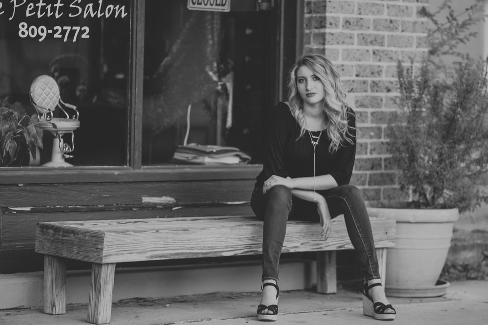 Franklinton High School Senior Portrait Photography - M. Deleon
