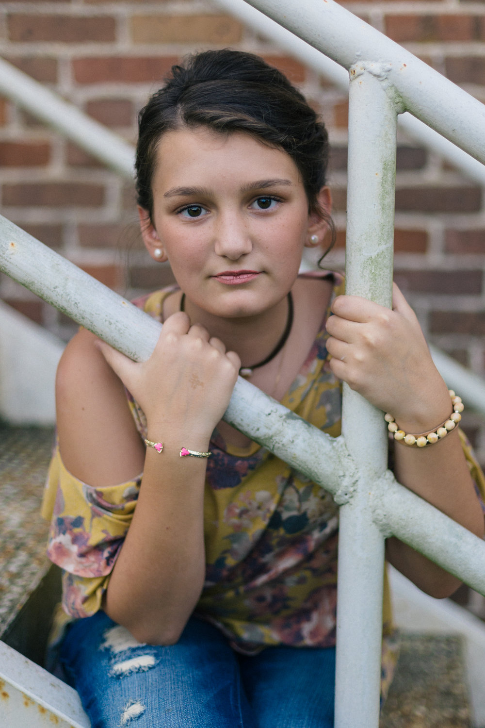 Franklinton, Louisiana portrait photography for tweens and kids by Chris Ginn Photography.