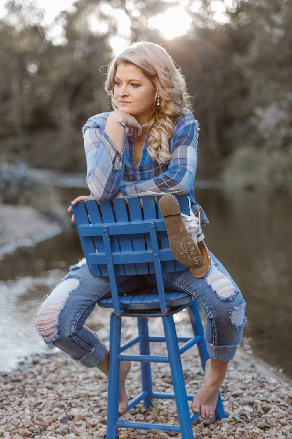 Jewel Sumner Cowboys Senior Portrait Photography