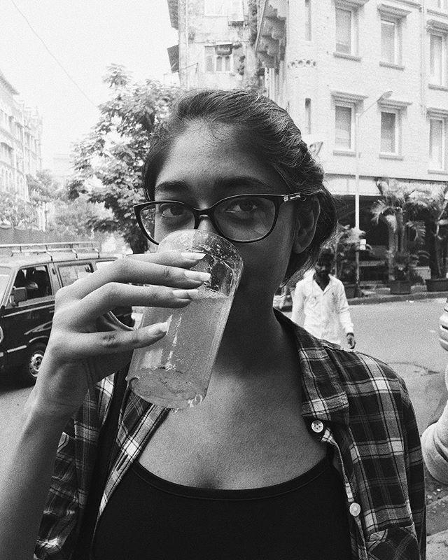 tall glass of ambu soda 🍋💦