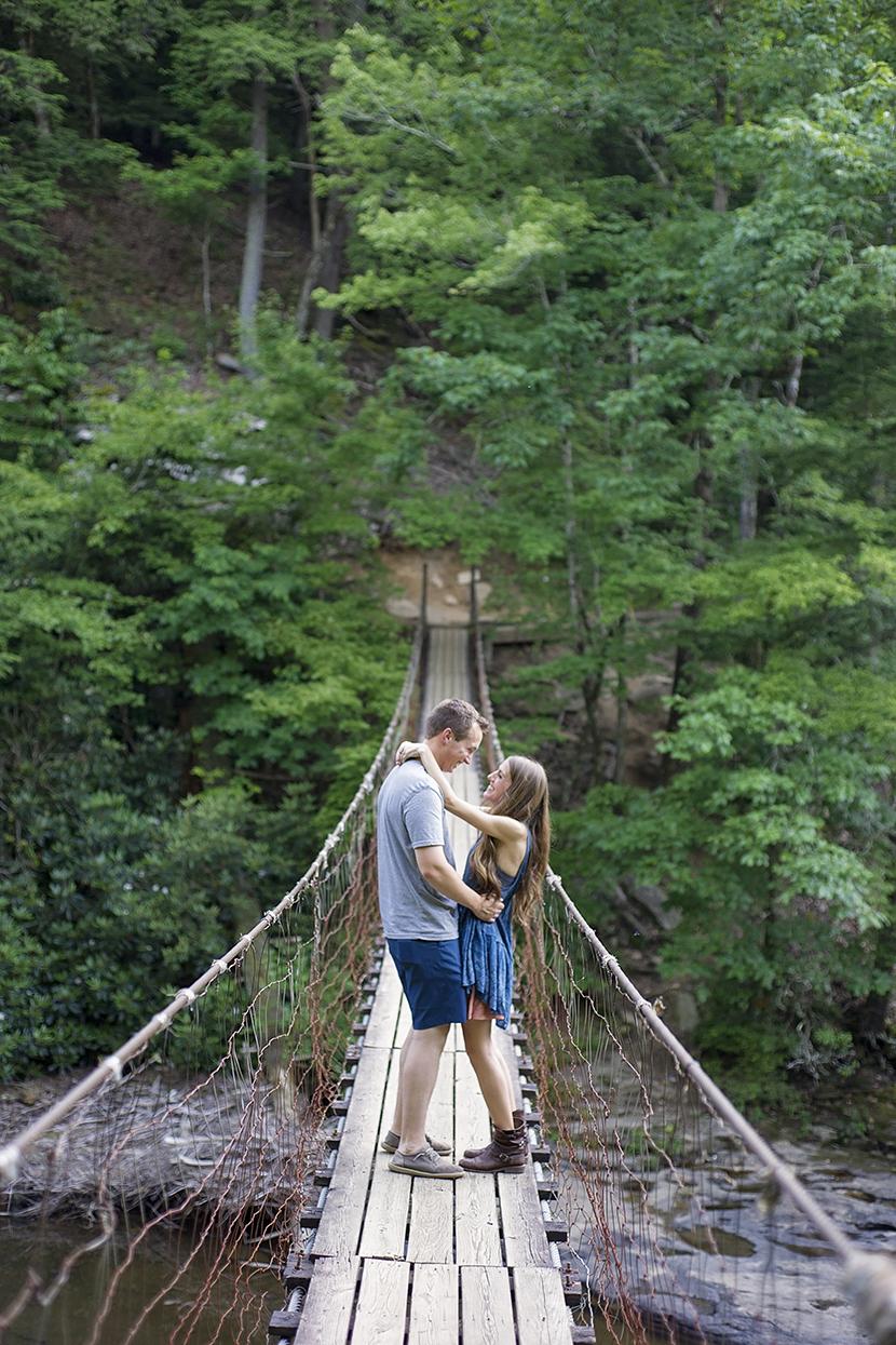Stephanie Benge Photography | Nashville Wedding Photographer | Fall Creek Falls Engagement