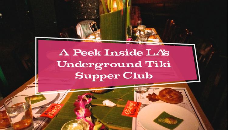 A Peek Inside LA\'s Underground Tiki Supper Club — Modern Tiki Lounge