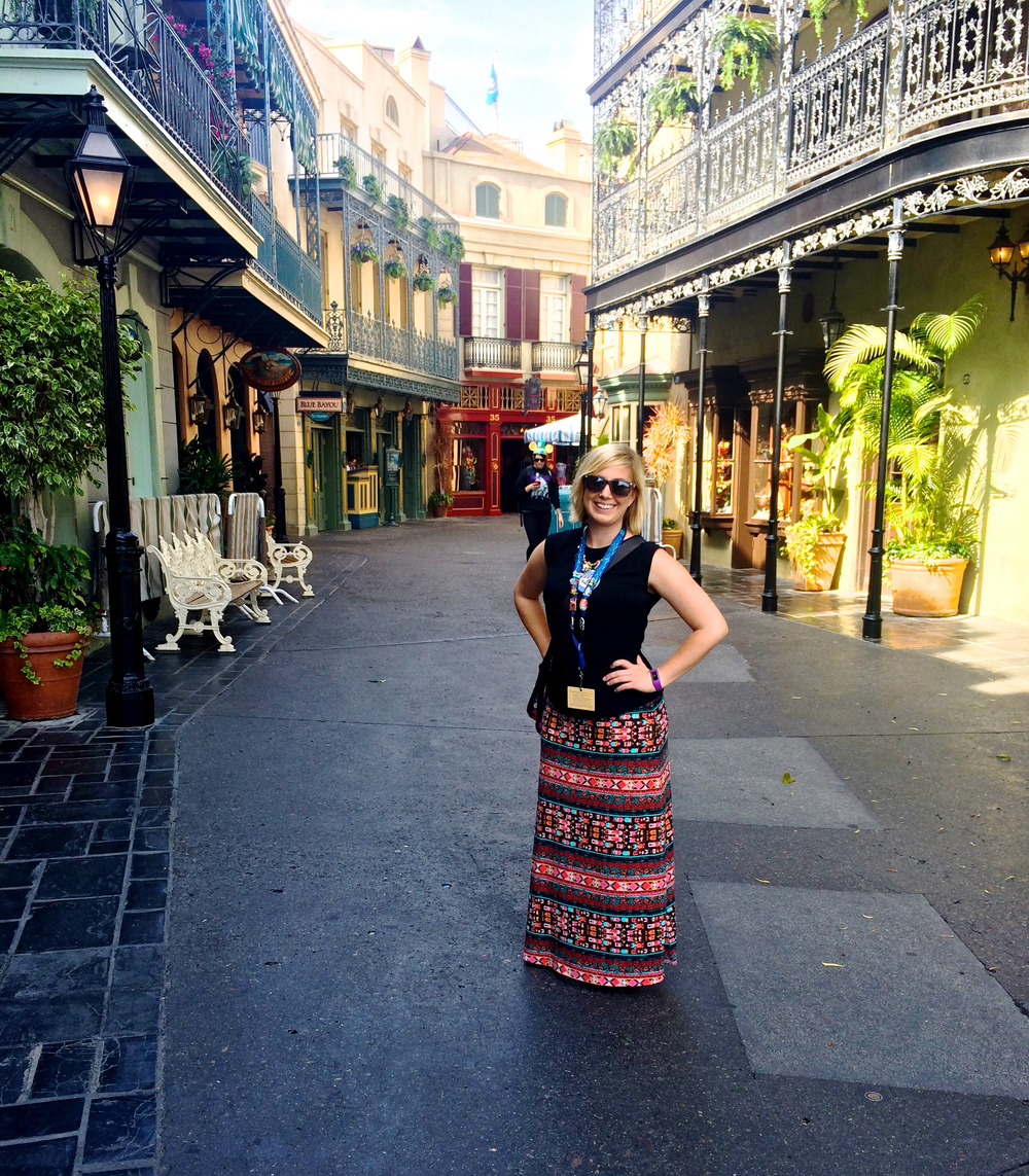 An [almost] empty new orleans square.