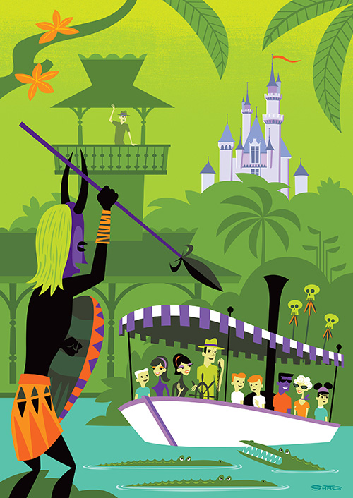 Artwork by shag; IMAGE COURTESY of disneyparksmerchandise.com