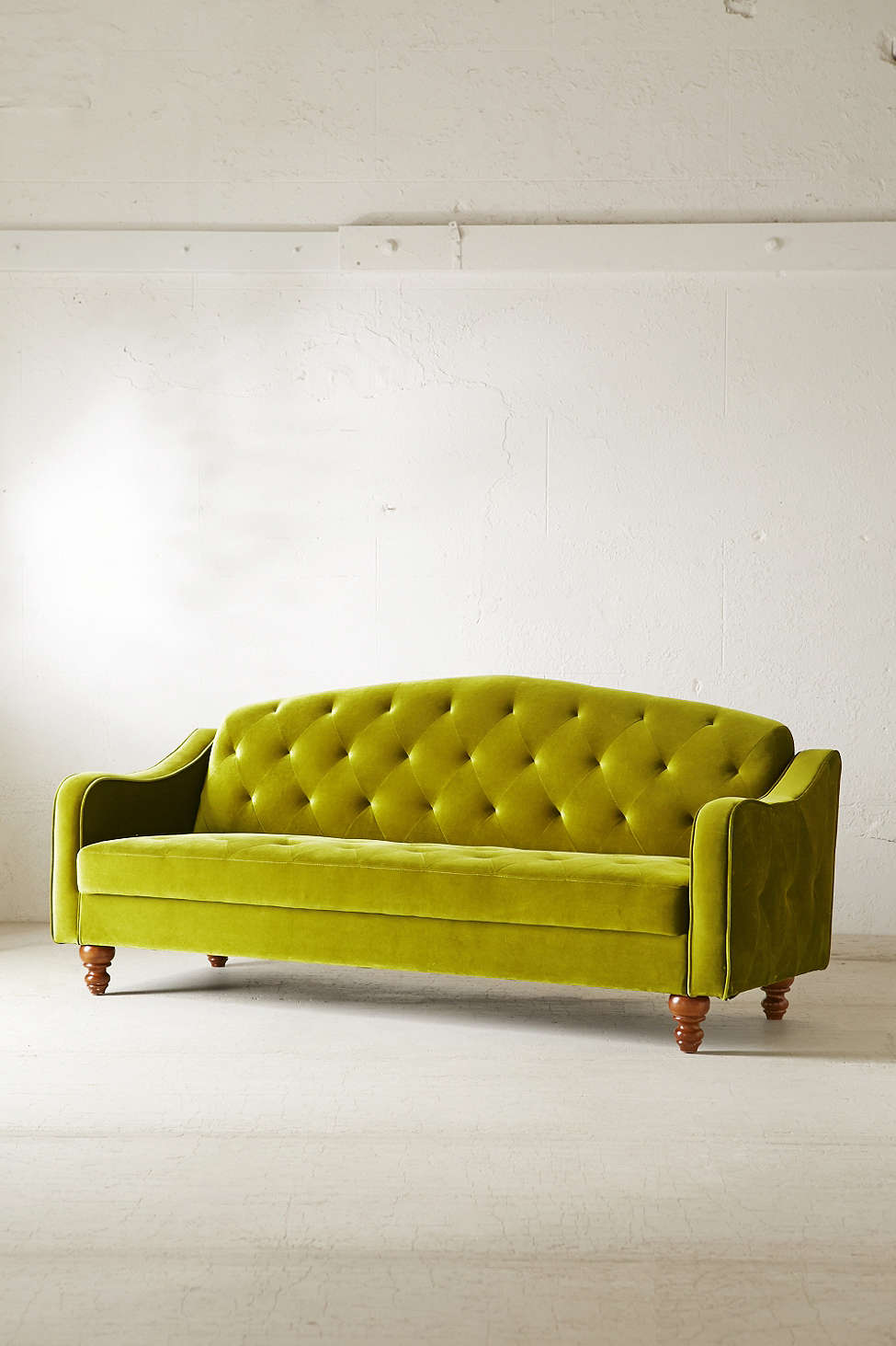 Brighten up your home 25 colorful sofas under 1000 for Ava chaise lounge