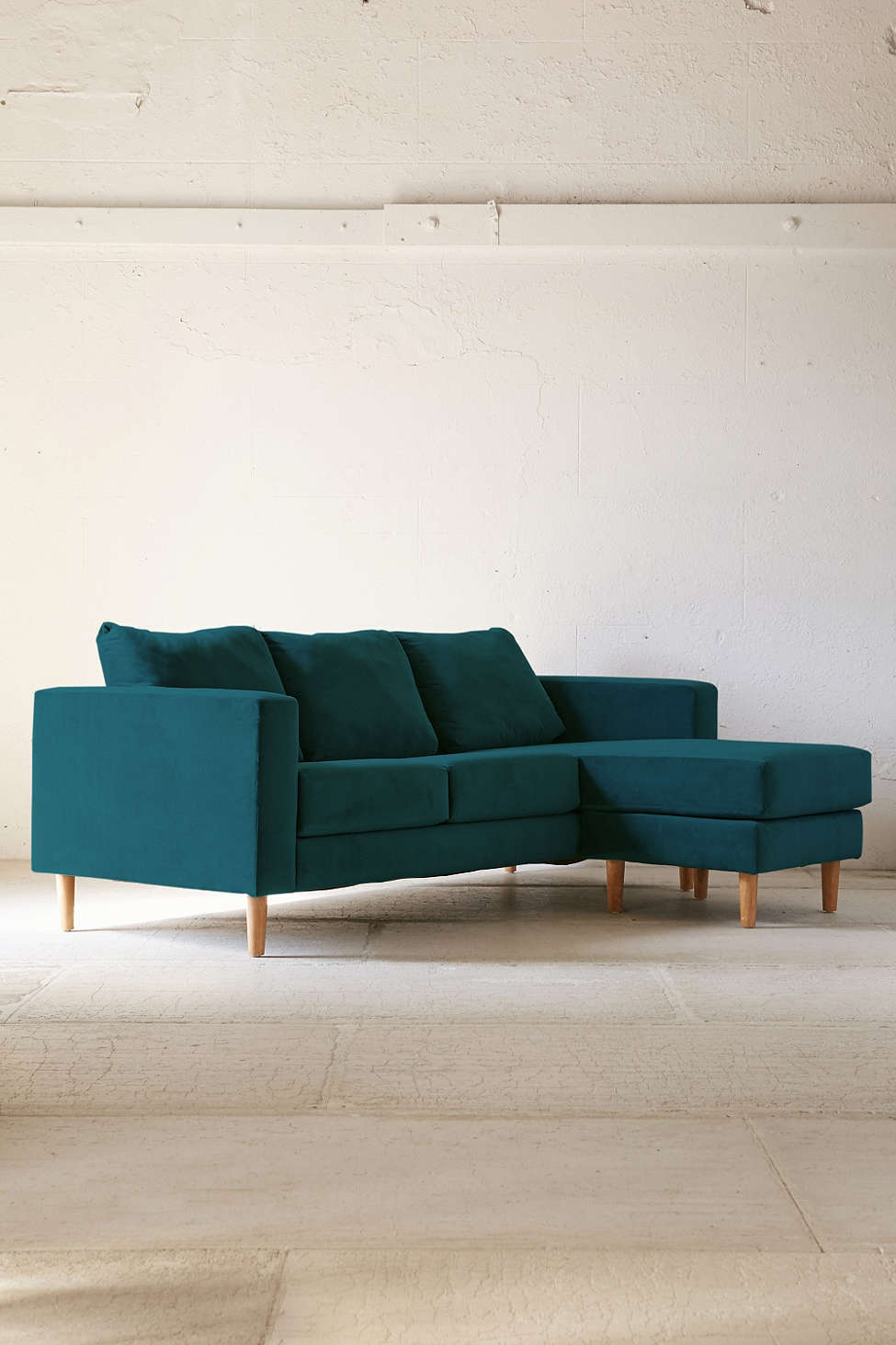 Quincy Chaise Sectional Sofa Urban Outfitters