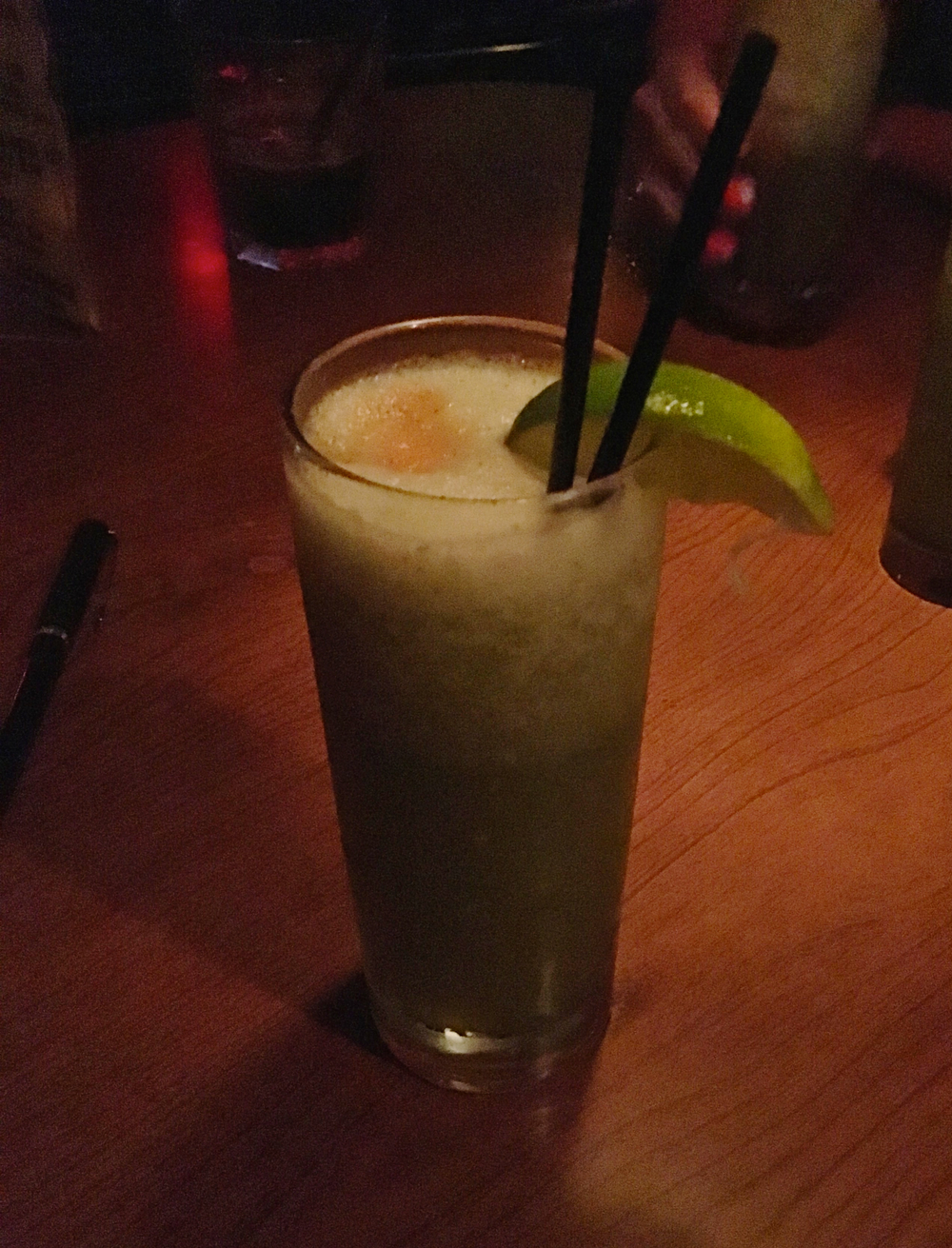 "missionary's downfall  ""alcoholic green smoothie"""