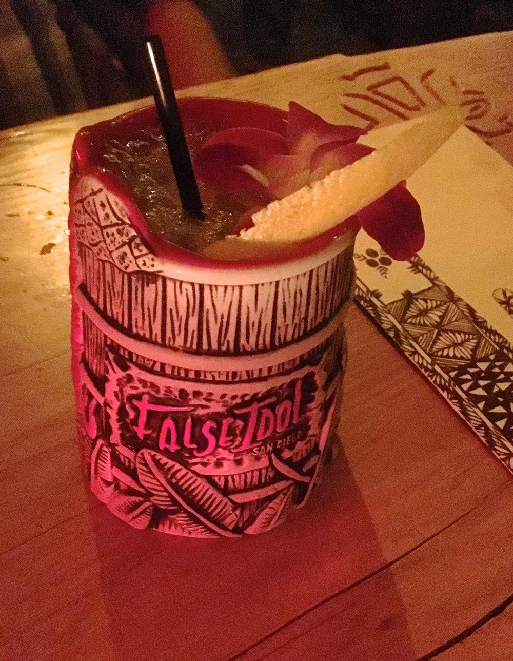 Alkala's Rum Barrel.