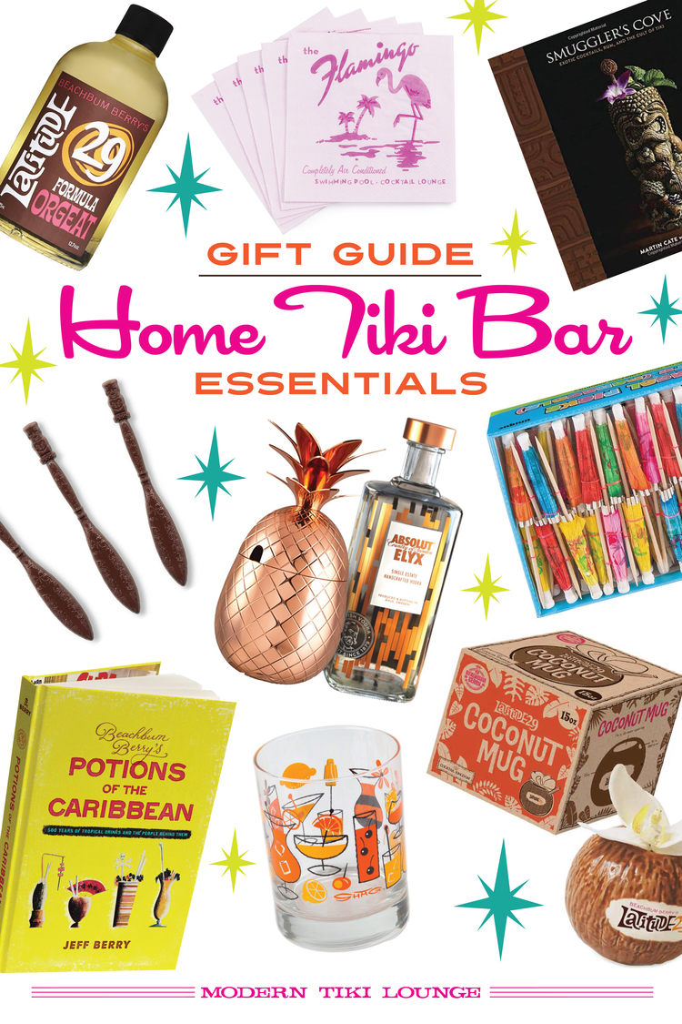 Gift Guide: Home Tiki Bar Essentials — Modern Tiki Lounge