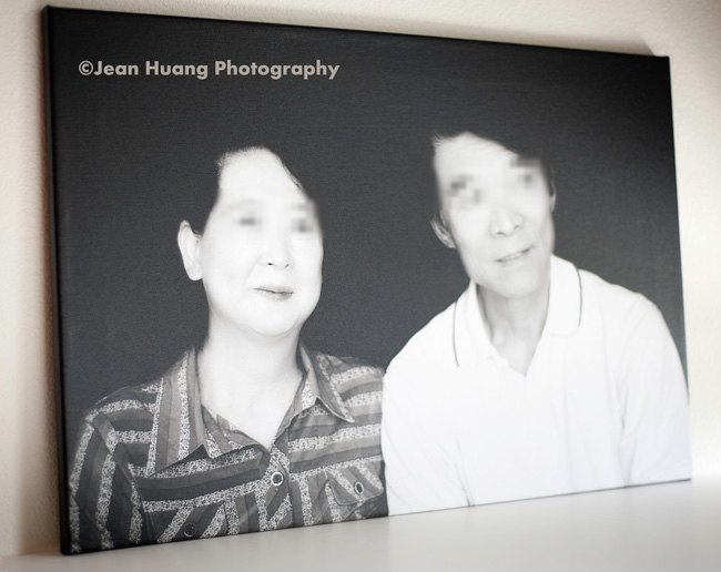 Wedding Anniversary Gift (Canvas Gallery Wrap) - ©Jean Huang Photography