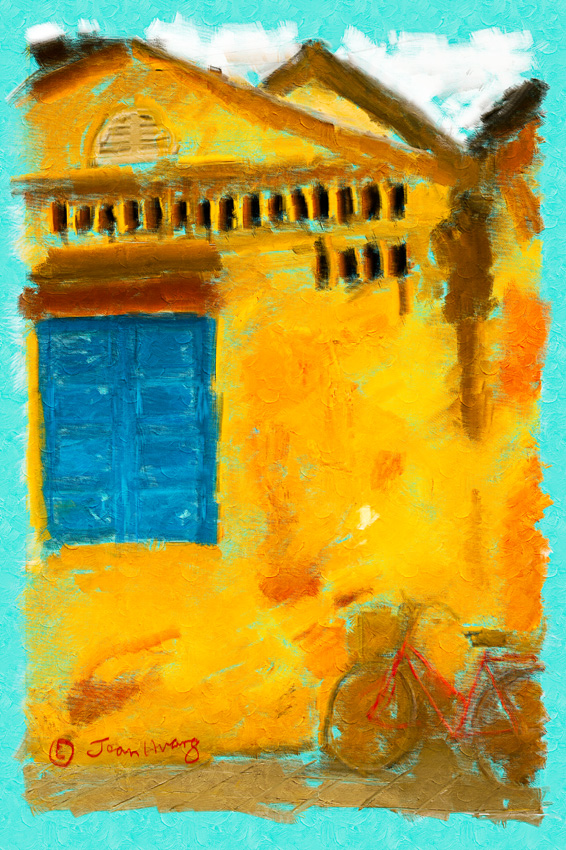 An-Oil-Paint-Interpretation-of-a-Fine-Art-Photography-made-in-Hoi-An-Vietnam-©Jean-Huang-Photography