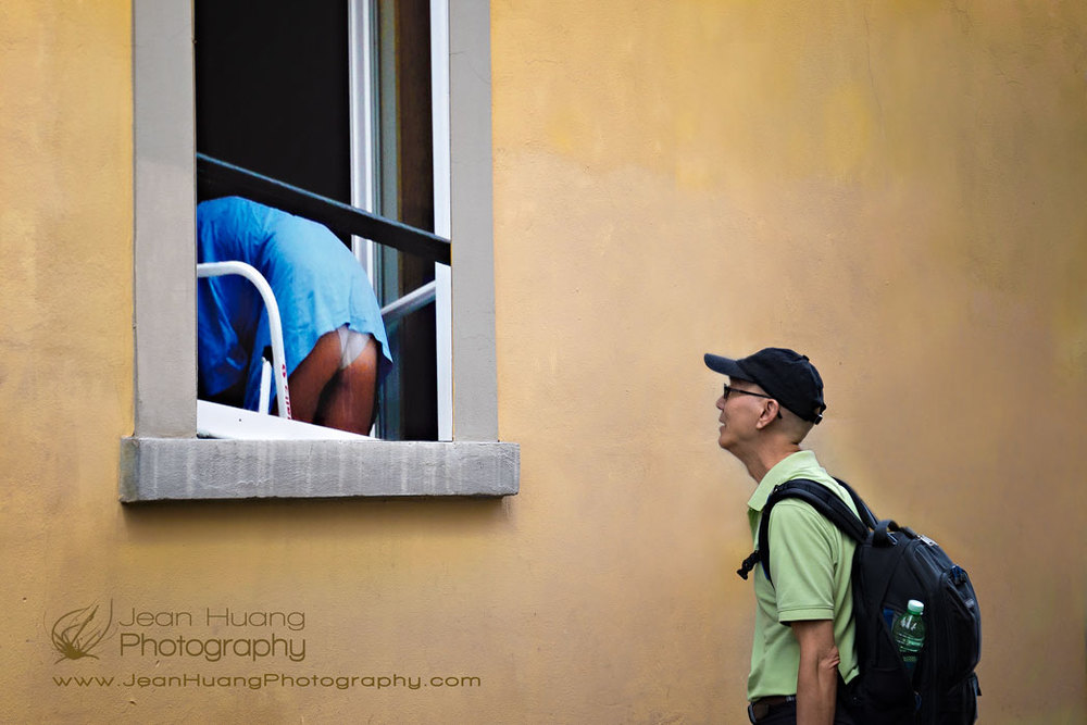 Look-into-the-Window-and-be-Faced-with-a-Rear-End-Florence-Italy-Copyright-Jean-Huang-Photography