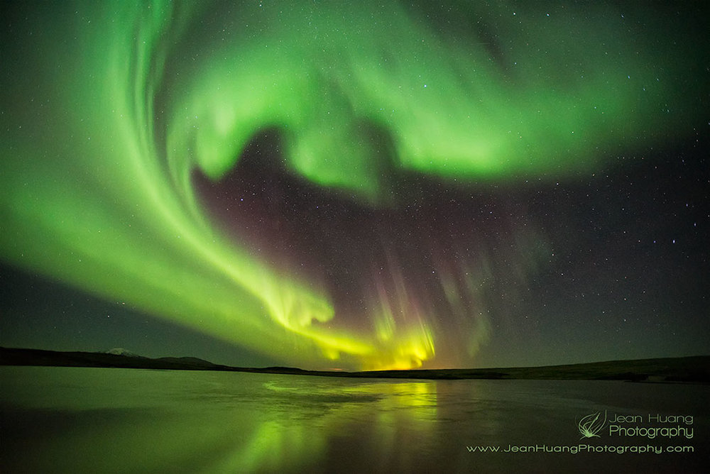 Aurora-Borealis-Northern-Light-Landmannalaugar-Iceland-Copyright-Jean-Huang-Photography