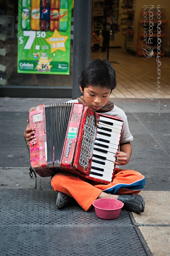 Accordion-Boy-Mexico-City-Mexico-Copyright-Jean-Huang-Photography