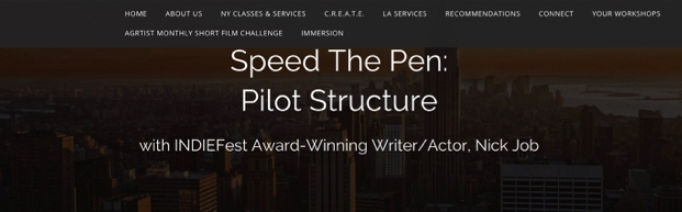 Speed-The-Pen Writer's Workshops at AGR