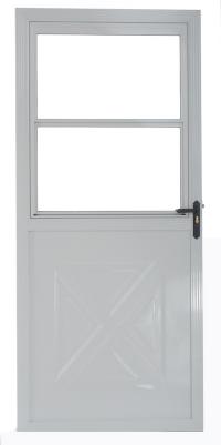 Crossbuck Storm Door