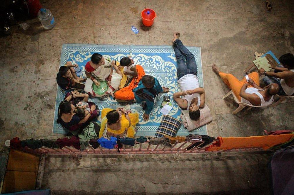 Power-outage picnic!— in  Kanyakumari, India