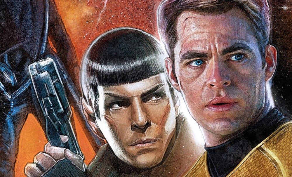 Star Trek: Into Darkness  poster by  Paul Shipper