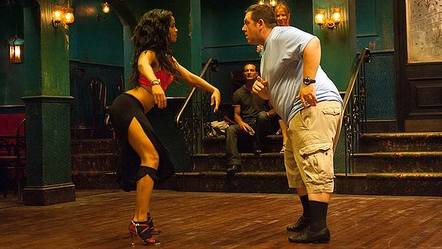 Yanet Fuentes puts Nick Frost through his paces in  Cuban Fury .