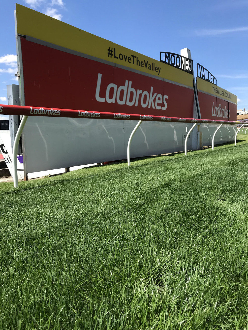 The staff at MVRC have the course looking a treat, now to get through 18 races within 24 hours.