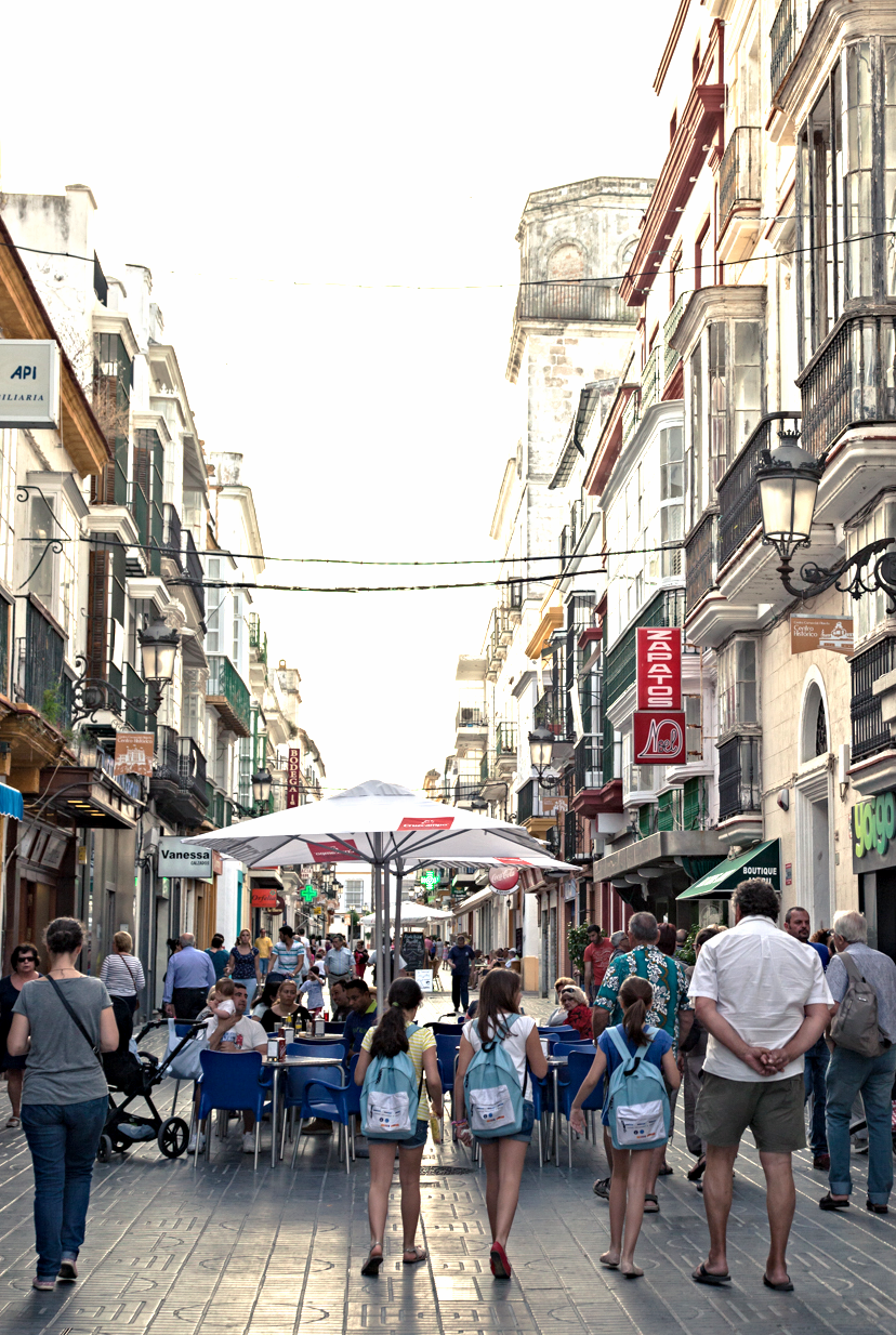 One of the many pedestrian Streets