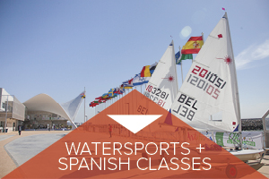 Watersports + Spanish classes