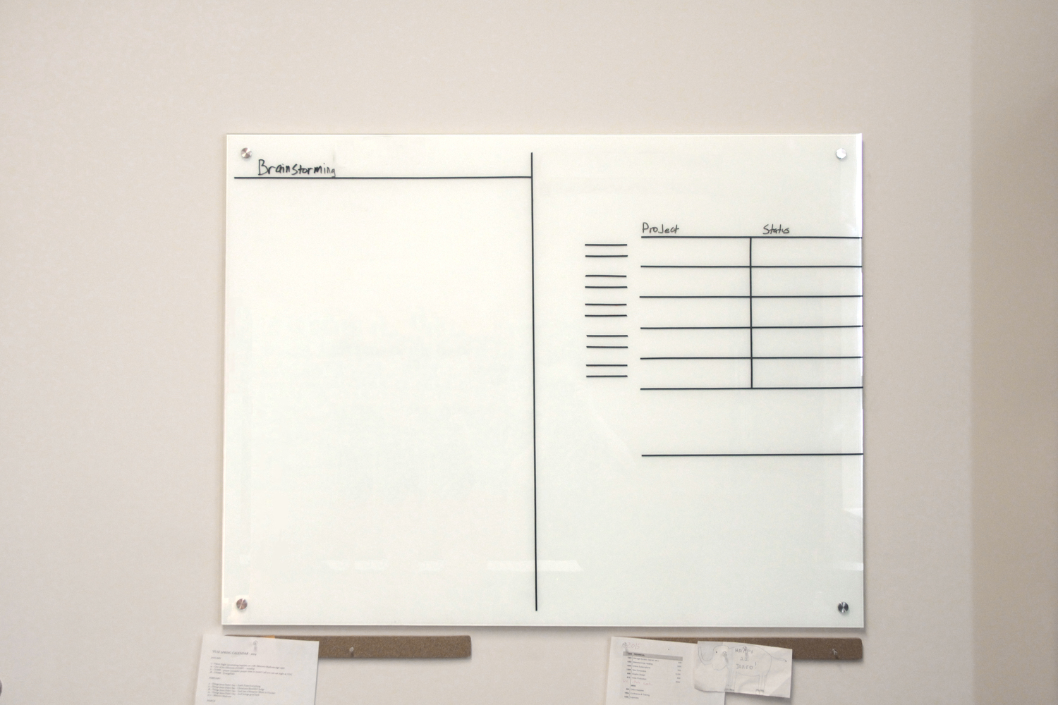 my ideal whiteboard layout for creative projects noble limits