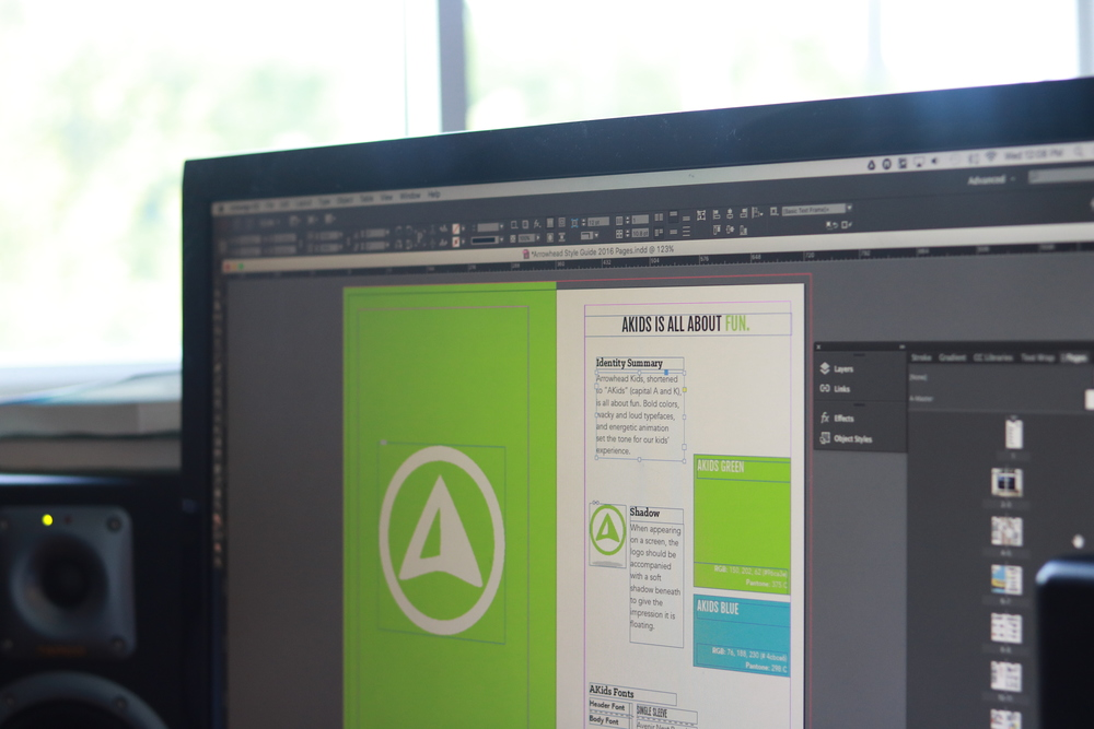 Designing the 2016 communication guide