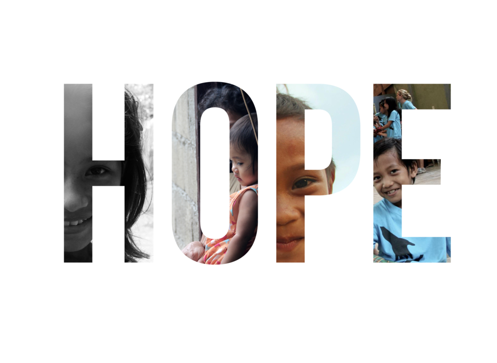 """""""Hope"""" Campaign -  Refuge Film   For his 2012 documentary film,  Refuge , Jared developed this """"Hope""""campaign for print and web. Each version featured different images from the film inside of the wordmark. This campaign was most prominently used as Facebook Banners that thousands of users downloaded and set on their own profiles, advertising the film."""
